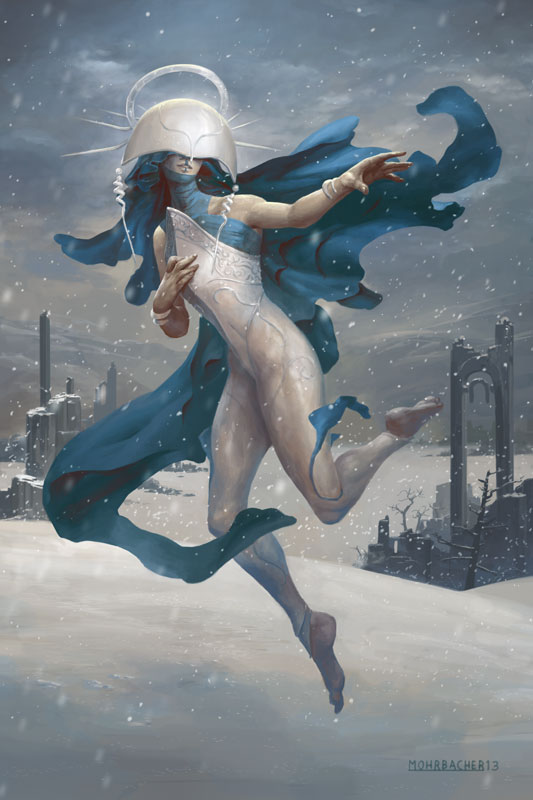 shelegiel__angel_of_snow_by_petemohrbacher-d6zno5v