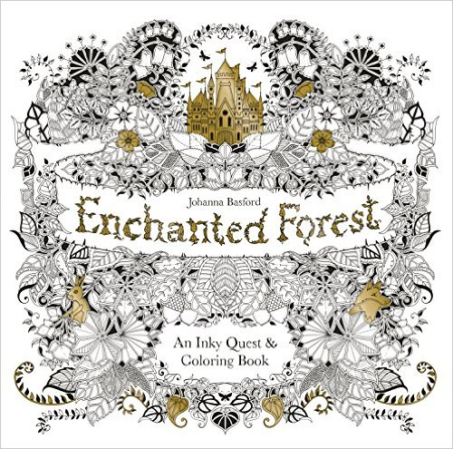 Enchanted Forest An Inky Quest & Coloring Book