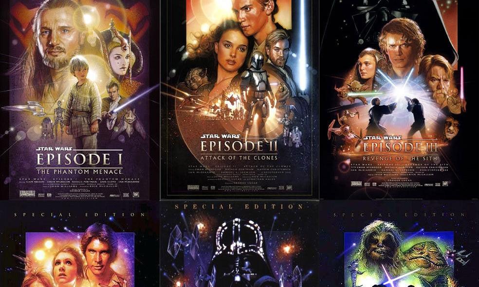a visual history of star wars saga posters