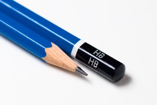 Hard lead pencils