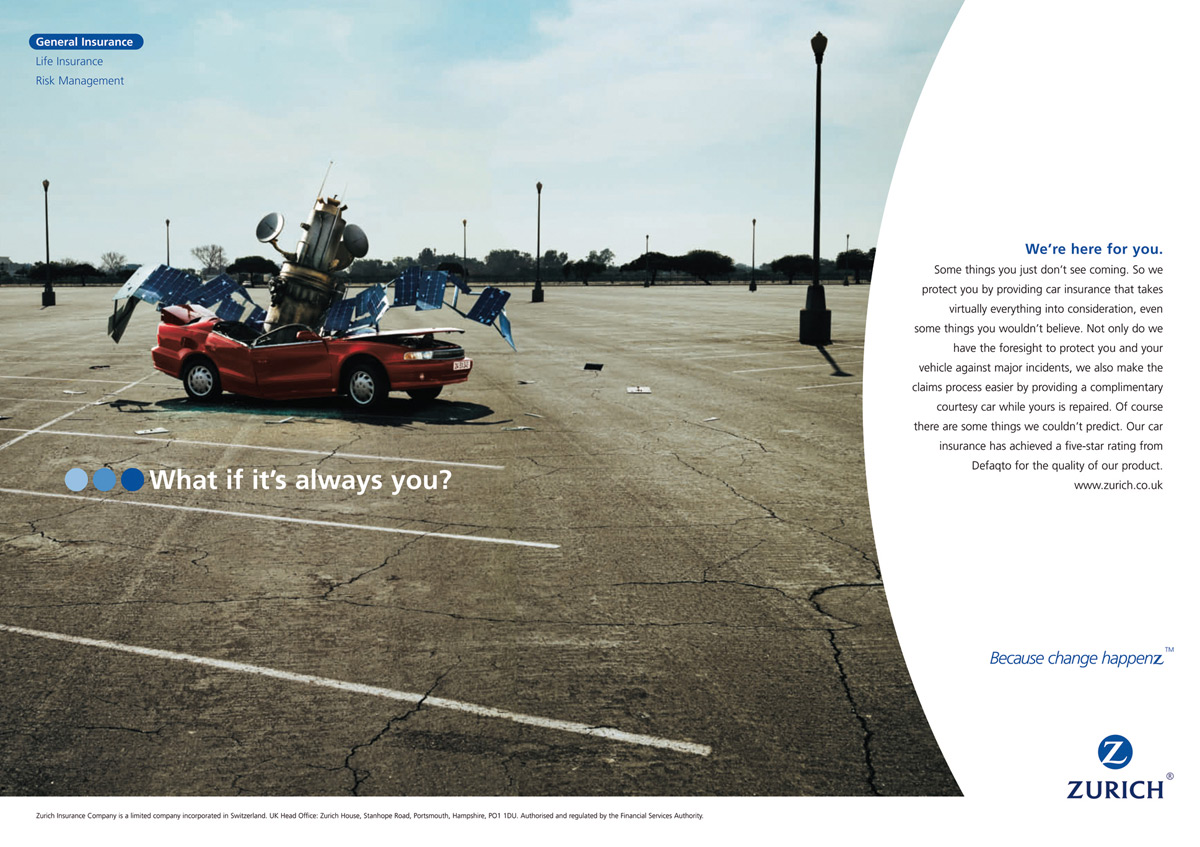 Zurich-insurance-Satellite-ad