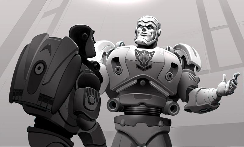 Toy Story 3 unused concept art