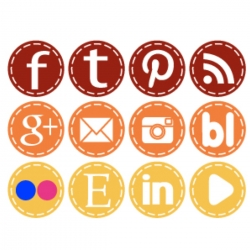 social-media-icons-in-fall-colors
