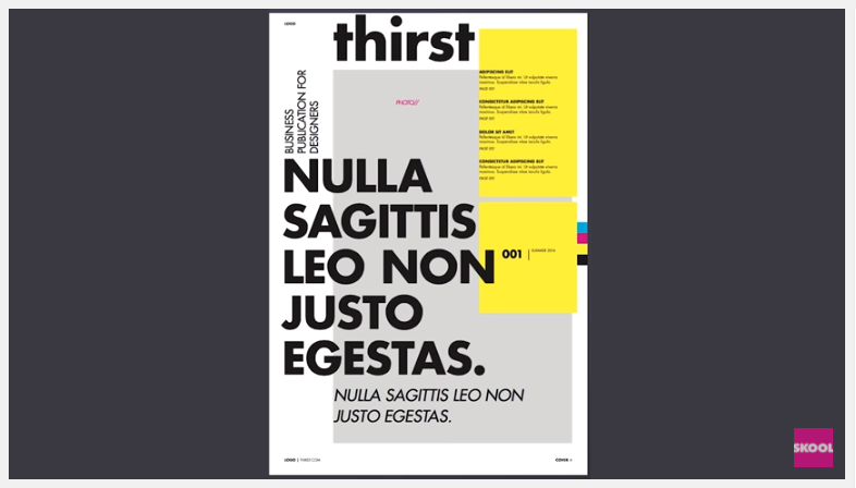 typography design and art direction video post image