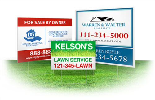 Make Your Own Decorative Yard Signs UPrinting Enchanting Make Your Own Decorative Sign
