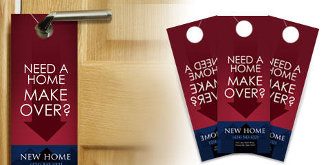 Door Hangers Have A Few Advantages Over Other Traditional Forms Of  Marketing, Like Flyers Or Postcards: