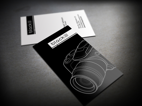 view source - Minimalist Business Card