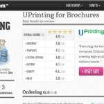 Printaholic Names UPrinting's Stickers and Brochures Best of 2013