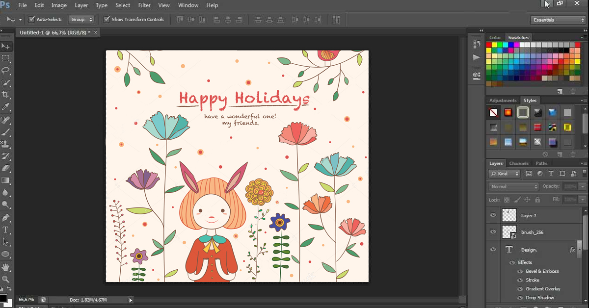 Design your own greeting card 11 hot tips that actually work try a greeting card template m4hsunfo