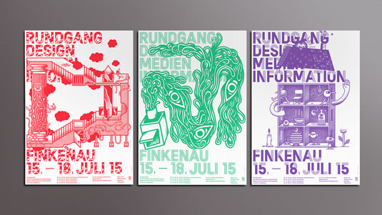 Das Department flyer designs