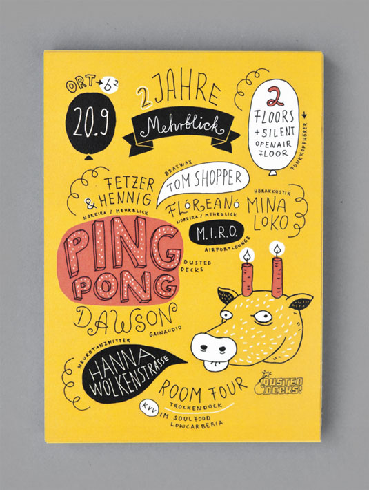 54 of the Best Flyer Design Examples We\'ve Seen in 2016