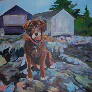 Best Brown Dog Painting
