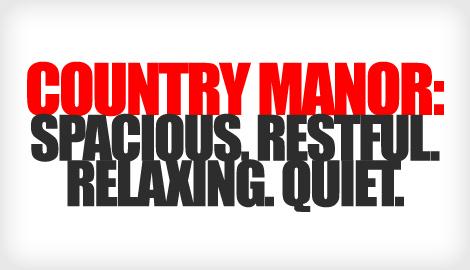 not relaxing font