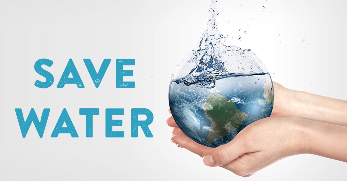Save Water - Symbolism