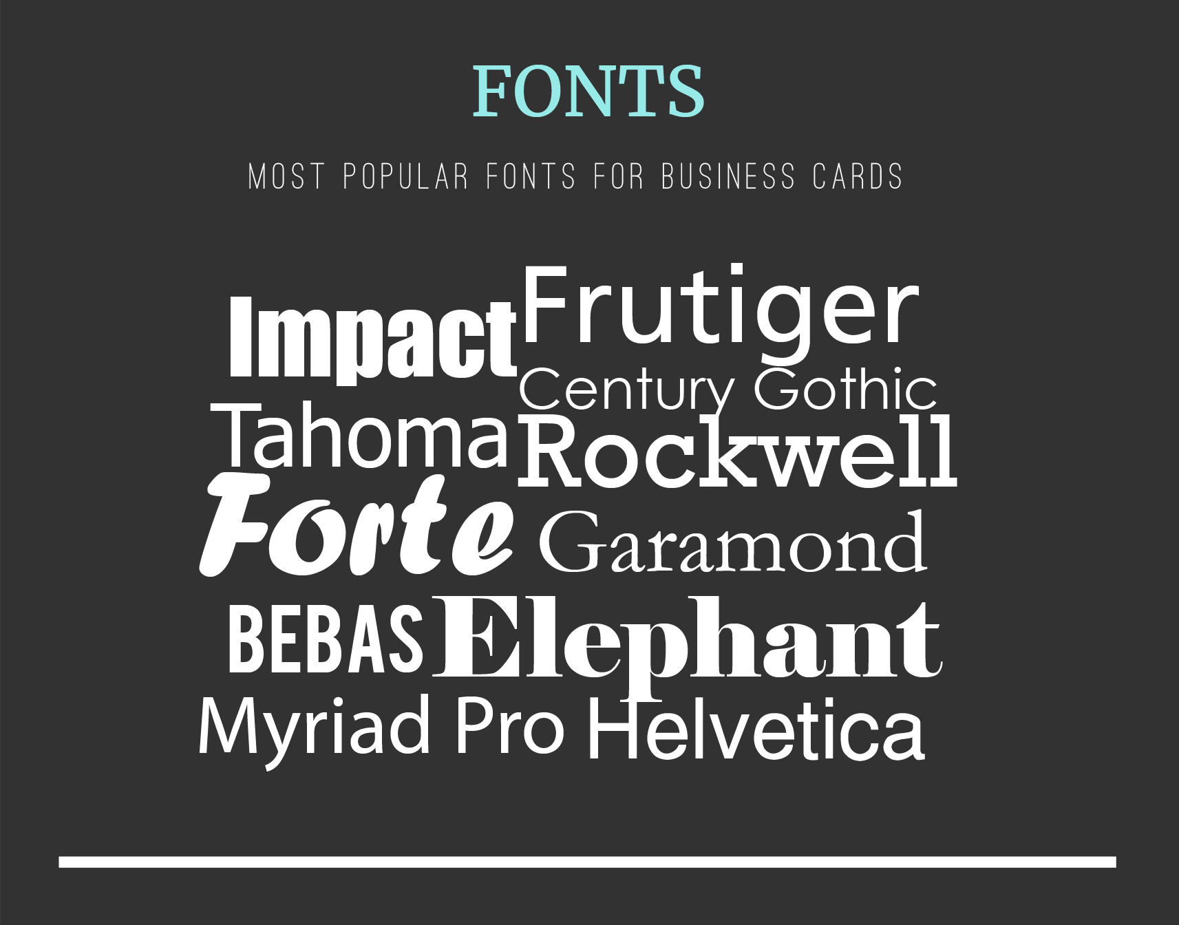 The most comprehensive business card design guide uprinting fonts for business cards colourmoves