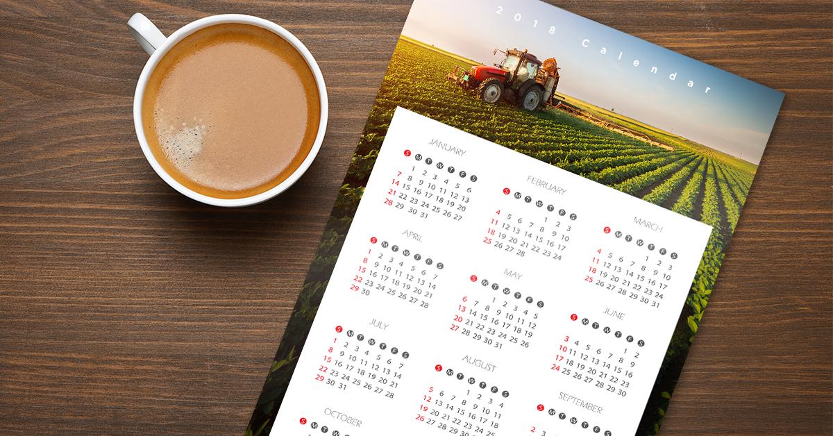 Farm and Agricultural Calendars