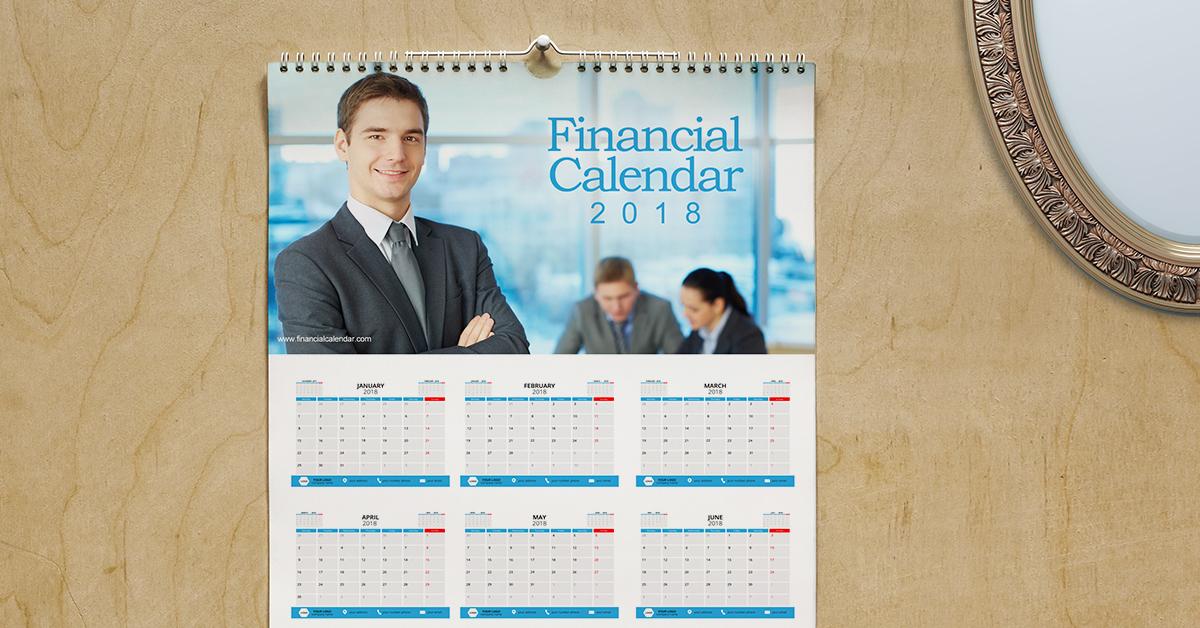 Financial Services Calendars