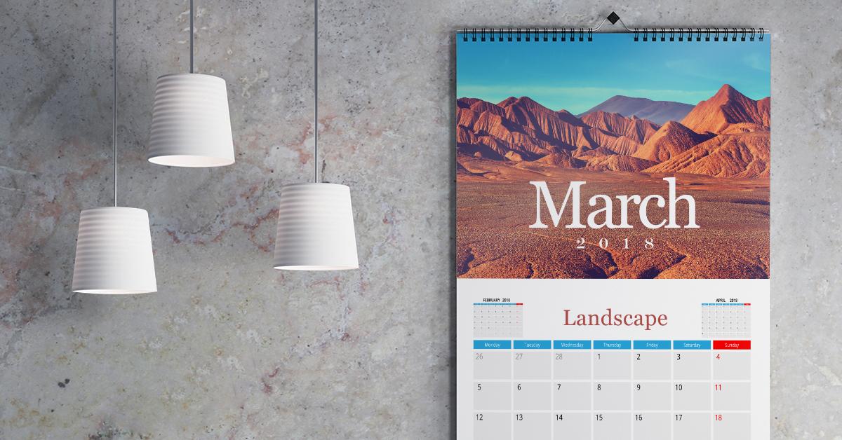 Landscape Calendars