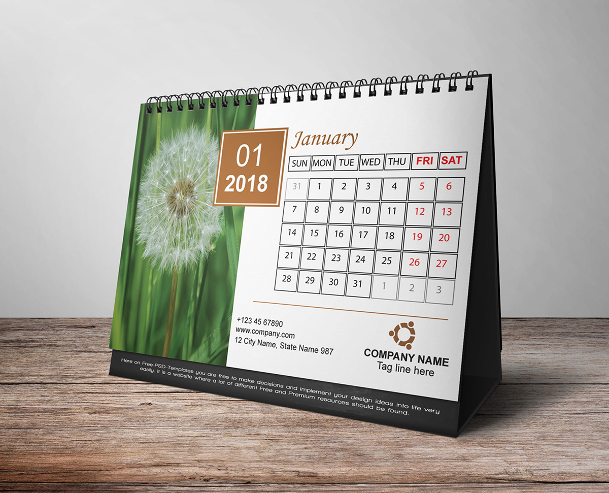 Unique Table Calendar Design : Calendar design ideas pixshark images