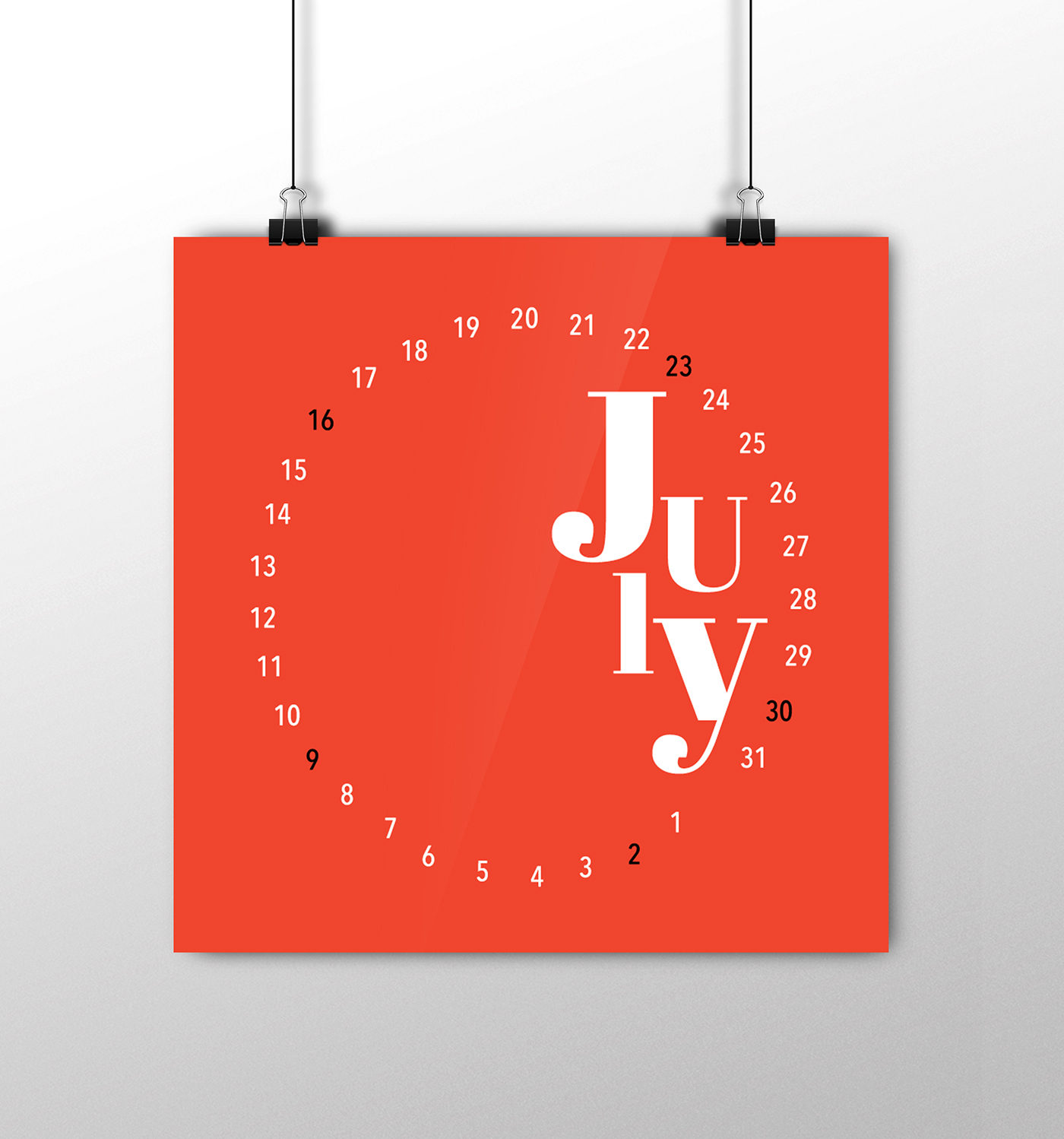 Unique Table Calendar Design : Awesome wall calendar design ideas from russia
