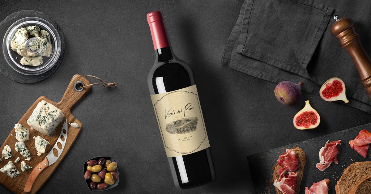 Creative Packaging Elegant Wine Label Design Samples