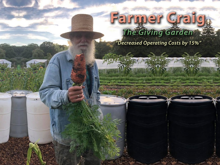 Farmer Craig and the Giving Garden